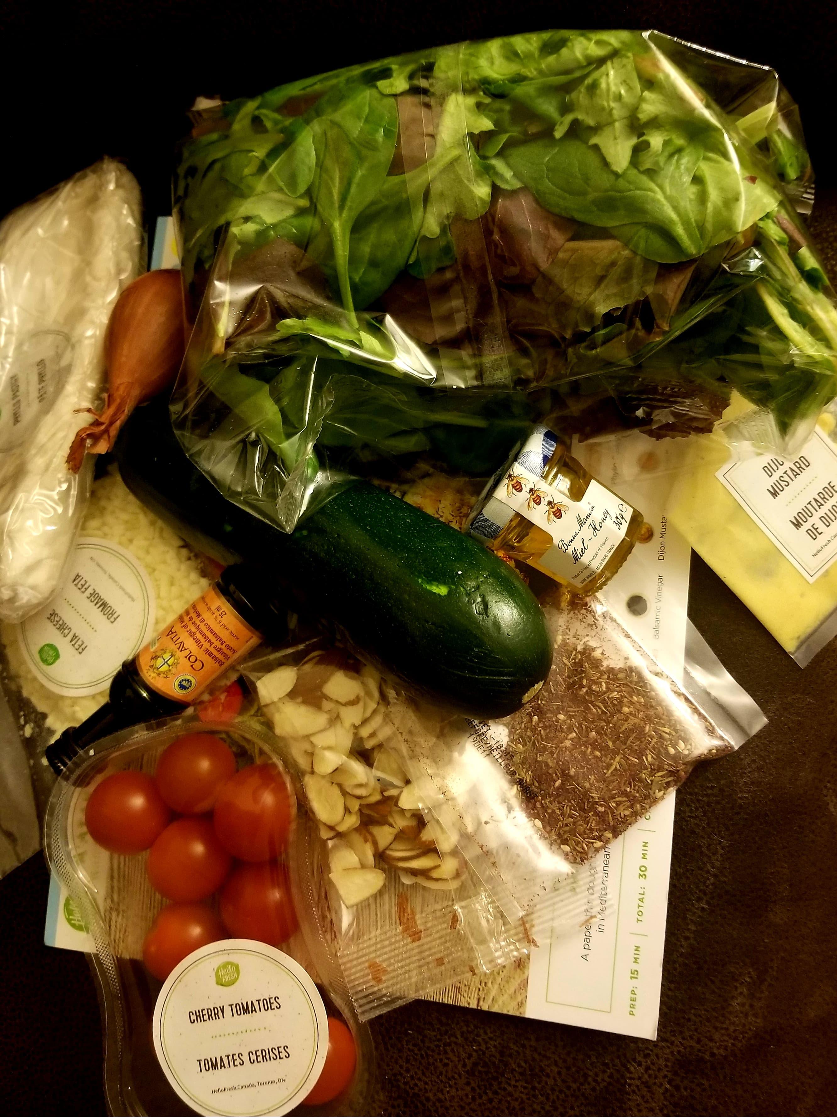 hellofresh raw ingredients